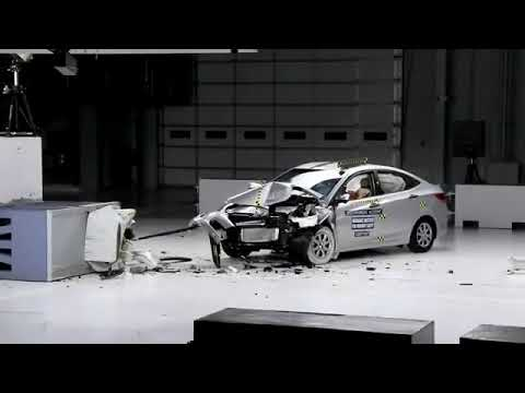 Htundai fludic verna / accent crash test