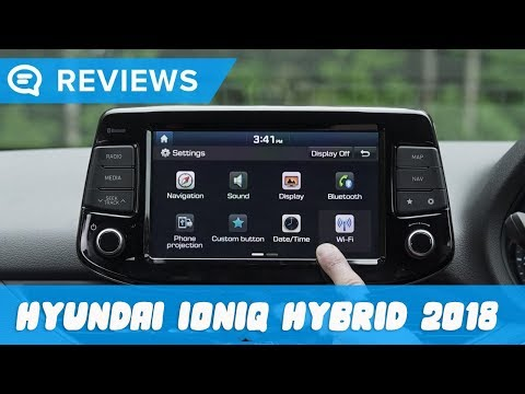 Hyundai Ioniq hybrid 2018 Infotainment review   Mat Watson Reviews