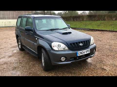 Hyundai Terracan 2.9 Manual - Bradley James Classics