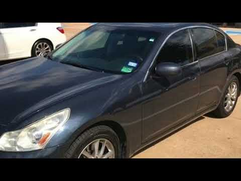 2007 INFINITI G35 Sedan G35x in McKinney, TX 75070