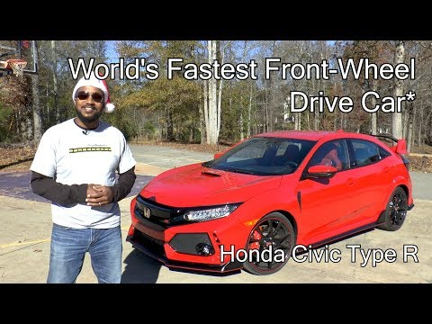 2017 Honda Civic Type R Review - World's Fastest Front-Wheel Drive Car*