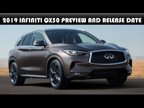 2019 Infiniti QX50 Preview And Release Date