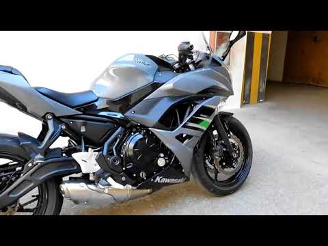 KAWASAKI NINJA 650 2018  ||FULL PRESENTATION ||TEST DRIVE  ||ENGINE SOUND ||ACCELERATION