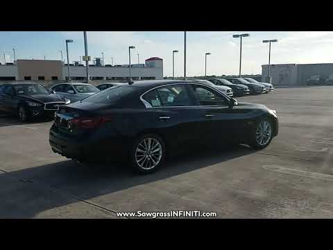 NEW 2018 INFINITI Q50 3.0T LUXE RWD at Sawgrass INFINITI New #180062