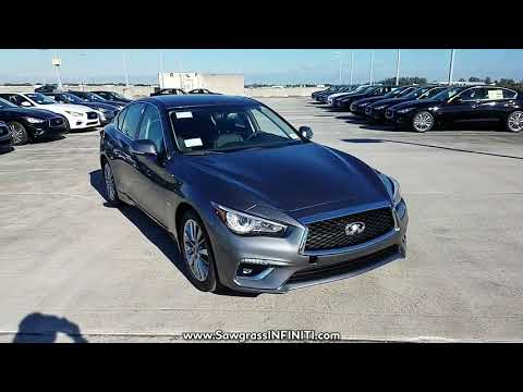 NEW 2018 INFINITI Q50 3.0T LUXE RWD at Sawgrass INFINITI New #180417