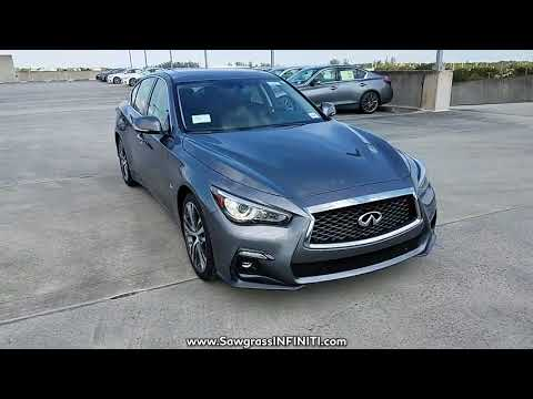 NEW 2018 INFINITI Q50 3.0T SPORT RWD at Sawgrass INFINITI New #180107