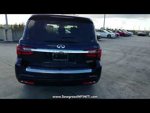 NEW 2018 INFINITI QX80 AWD at Sawgrass INFINITI New #180480