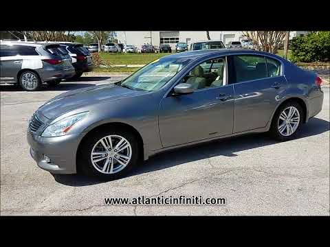 USED 2011 INFINITI G25 4DR JOURNEY RWD at Atlantic Infiniti #14257A
