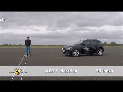 2018 Jaguar E-Pace - Crash Test