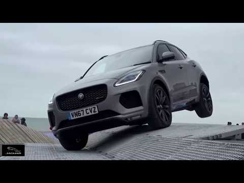2018 Jaguar E-Pace Test Drive - Obstacle Overcoming