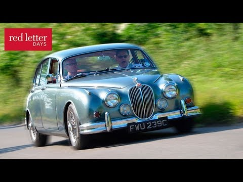 A Jaguar Mk2 Country Drive with Red Letter Days