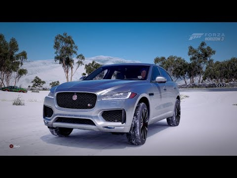 Forza Horizon 3| 2017 JAGUAR F-PACE S [Blizzard Mountain]