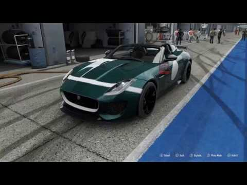 FORZA Motorsport 7 - 2016 Jaguar F-TYPE Project 7 - Car Show Speed Crash Test .