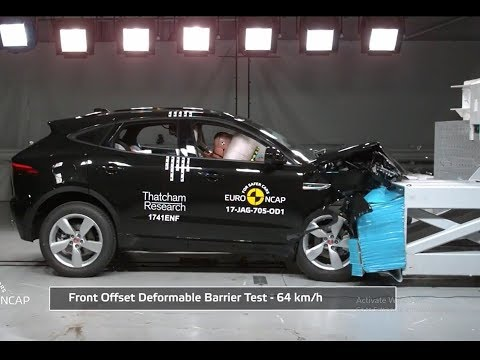 JAGUAR E-PACE Crash Test