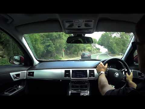 Jaguar XF Premium Luxury DIESEL Test Drive