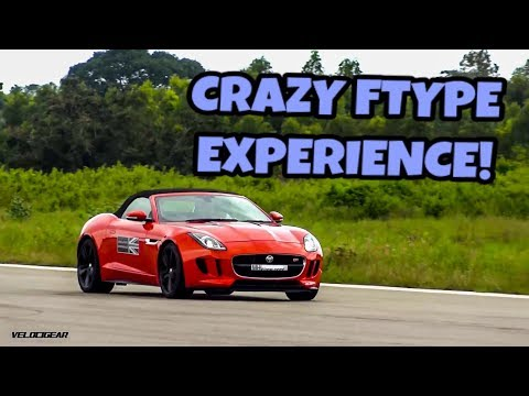 MY FIRST SUPERCAR DRIVE - JAGUAR FTYPE ON AN AIRSTRIP IN BANGALORE, INDIA!