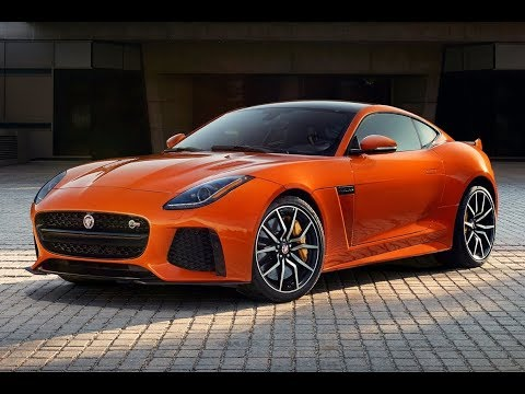 New Jaguar F Type SVR Coupe Concept 2017 - 2018 Review, Photos, Exhibition, Exterior and Interior