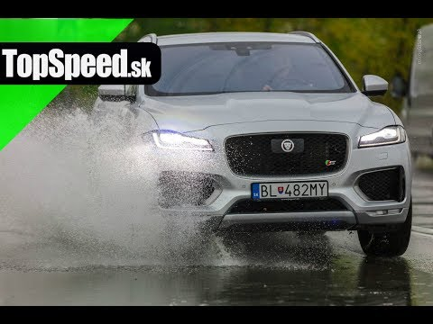 Test Jaguar F-Pace S SUV - TopSpeed.sk