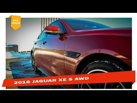 THE SOLID ONE! 2018 JAGUAR XE S AWD