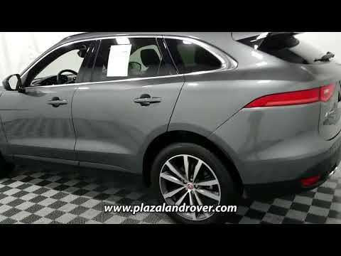 USED 2017 JAGUAR F-PACE 20D PRESTIGE AWD at Plaza Land Rover Used #HA492728