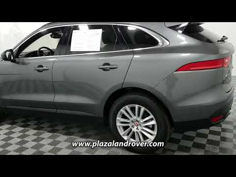 USED 2017 JAGUAR F-PACE 35T PRESTIGE AWD at Plaza Land Rover Used #HA895456