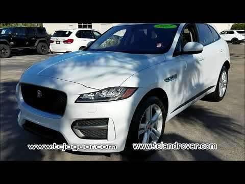 USED 2017 JAGUAR F-PACE 35T R-SPORT AWD at JLR Treasure Coast #P6465