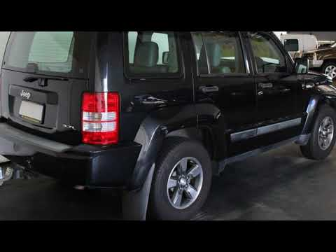 2008 Jeep Cherokee KK Sport (4x4) Black 4 Speed Automatic Wagon