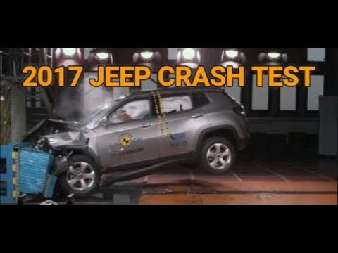 2017 Jeep Compass  Crash Test 5 star rating