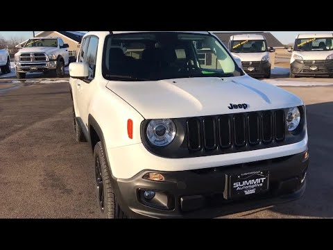 2017 Jeep Renegade 4x4 Latitude: Latitude-4wd-my Sky-backup Cam-blind