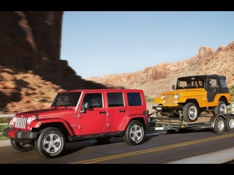 2018 Test Drive Jeep Wrangler Diesel Performance