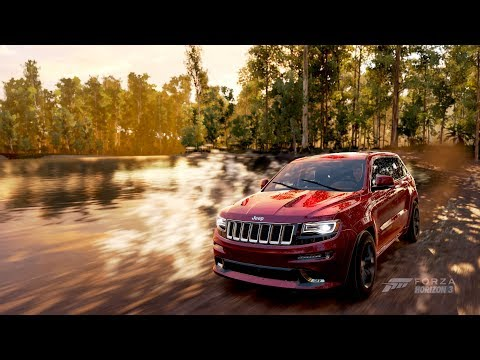 Forza Horizon 3  Test Drive Jeep Grand Cherokee SRT LOUD SOUND!