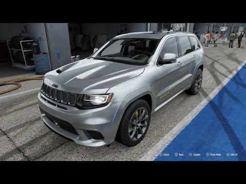 FORZA Motorsport 7 - 2018 Jeep Grand Cherokee Trackhawk - Car Show Speed Crash Test .