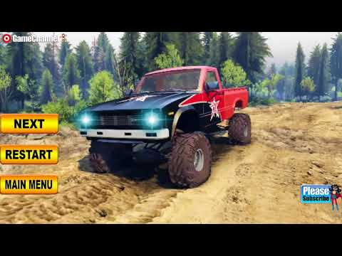 Hillock Off Road Jeep Driving / 4x4 Suv Jeep Driver / Android Gameplay Video