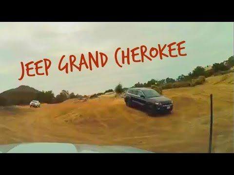 Jeep Cherokee Laredo Hollister SVRA 4x4 Obstacle course