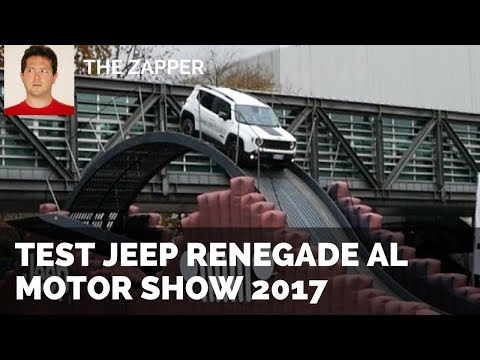 'Test Drive' Jeep Renegade | The Zapper al Motor Show 2017