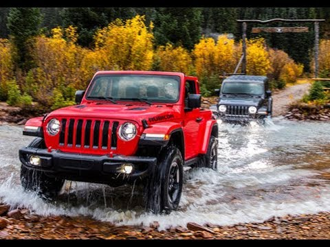 Test Drive Jeep Wrangler 2018 Diesel Performance