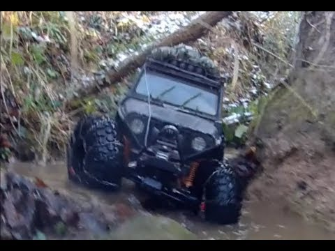 The Nylint Beast 4x4 Jeep Wrangler Rubicon 4x4 RC 1/6 Scale Rock Crawler