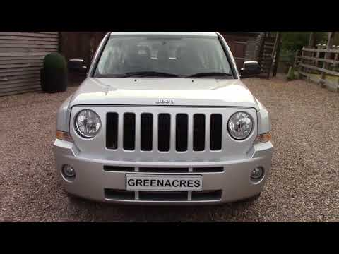 Used 2008 58 Reg JEEP PATRIOT 2.4 CVT LIMITED AUTO 4x4 FOR SALE  in Nottinghamshire