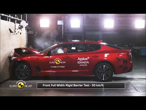 2018 Kia Stinger - NCAP Crash Test
