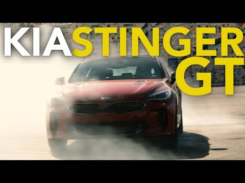 2018 Kia Stinger Review and First Drive | Kia Stinger GT Review