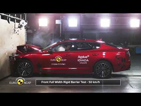 NEW 2018 Kia Stinger SPORT Crash Test