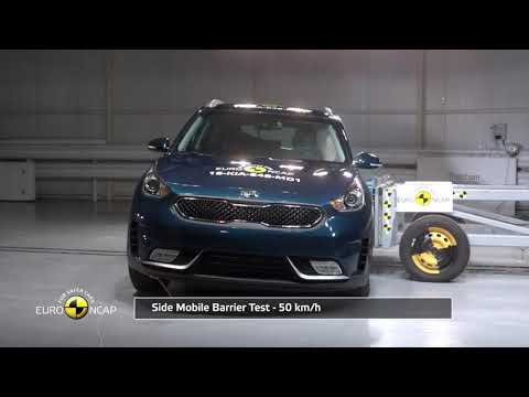 NEW Euro NCAP Crash Test of Kia Niro 2017