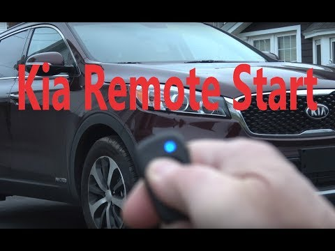 Tech Tips: 2018 Kia Sorento AWD Remote Start Video