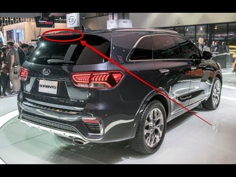 WOW!! 2019 Kia Sorento Revised Styling  More Features, Loses Turbo 4 Option