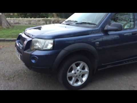 2005 05 LAND ROVER FREELANDER TD4 4X4 ESTATE IMMACULATE CONDITION INSIDE OUT
