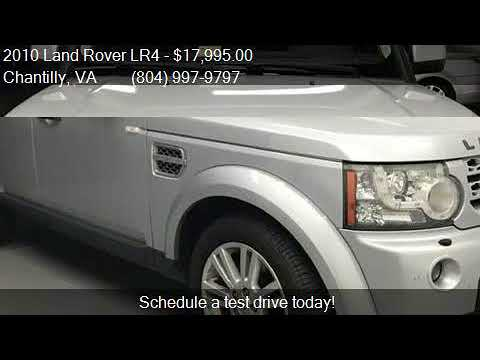 2010 Land Rover LR4 Base 4x4 4dr SUV for sale in Chantilly,