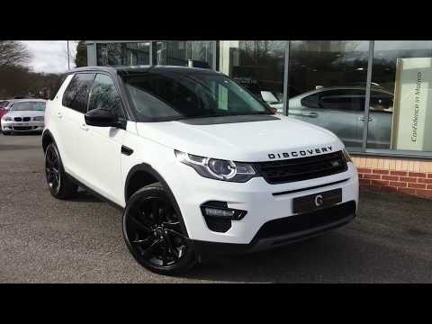 2017 17 Land Rover Discovery Sport 2.0 TD4 HSE Black 4X4 (s/s) 5dr