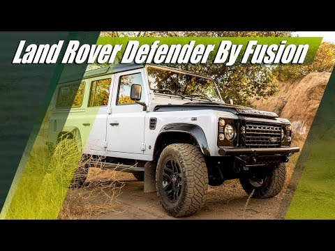 430 HP Land Rover Defender 6.2 LS3 V8 By Fusion Motor Company