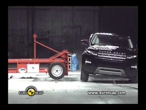 Euro NCAP - Range Rover Evoque crash tests ***** five stars
