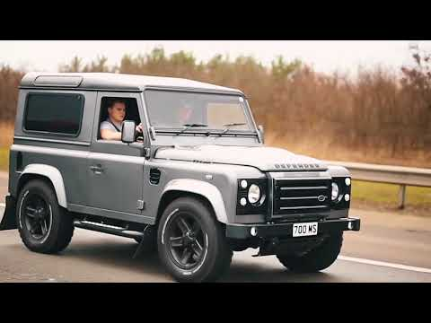 Idiots in Land Rover Defenders go off-roading